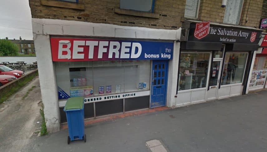 Betfred Betting Shop Bradford High Street