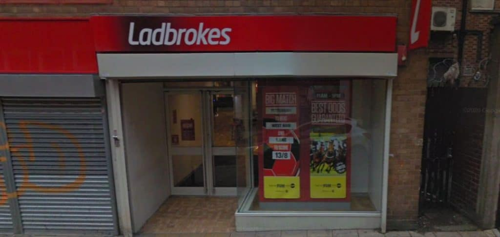Ladbrokes betting shops ltd betting on a horse
