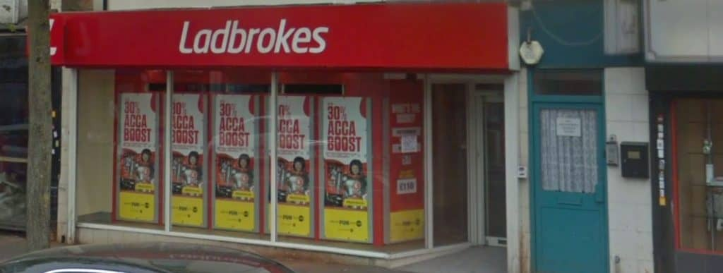 Ladbrokes Betting Shop Leicester Melton Road