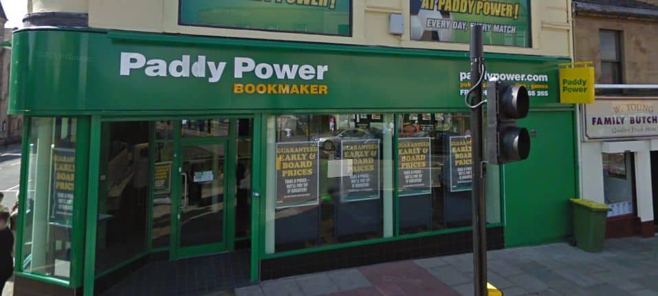 Paddy Power Betting Shop Airdrie Stirling Street
