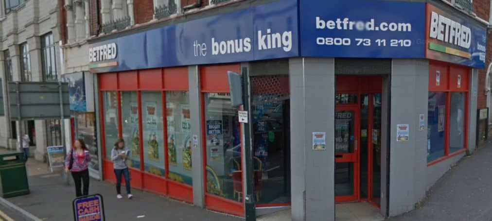 Betfred Betting Shop Bournemouth Commercial Road