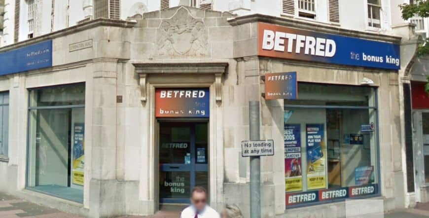 Betfred Betting Shop Eastbourne Cornfield Road