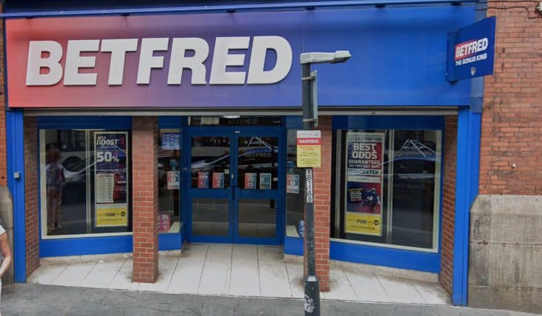 Betfred Betting Shop Liverpool Dale Street