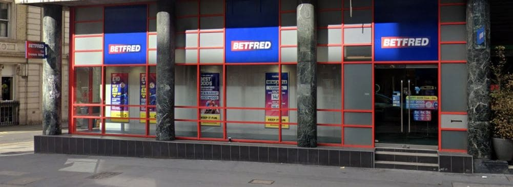 Betfred betting shops london where to bet on college football online