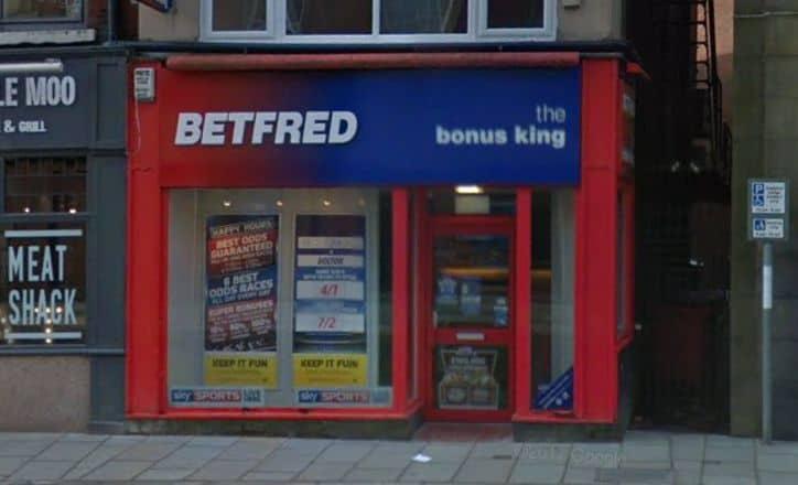 Betfred Betting Shop Rochdale Yorkshire Street