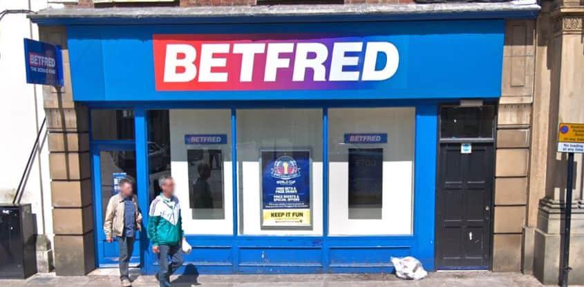 Betfred Betting Shop Preston Fishergate