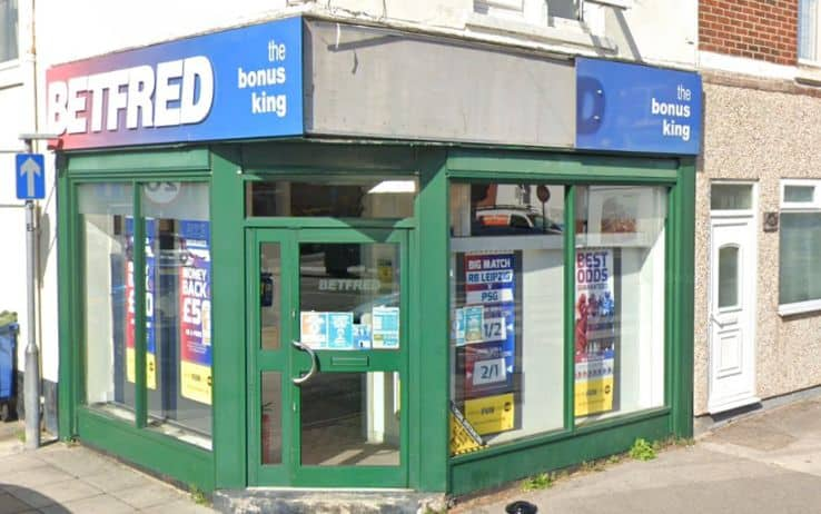 Betfred Betting Shop Portsmouth Tangier Road