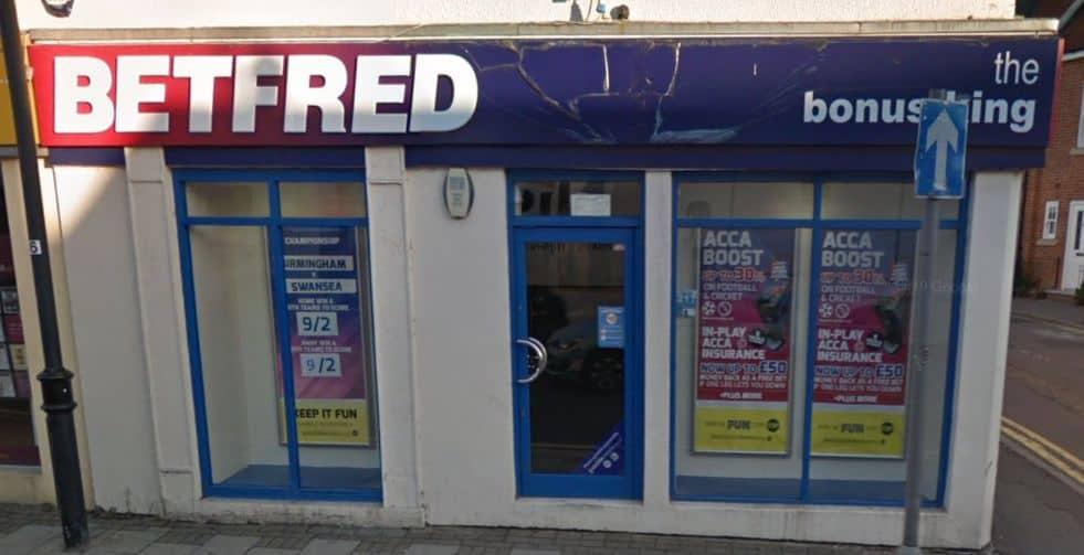 Betfred Betting Shop Chelmsford Moulsham Street