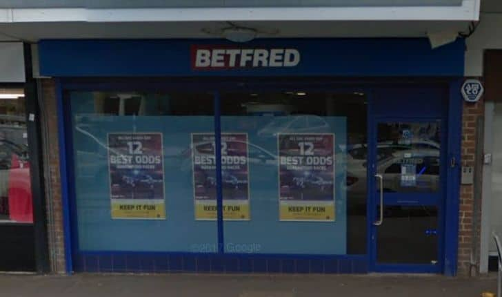 Betfred Betting Shop Derby Prince Charles Ave