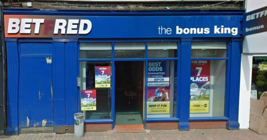 Betfred Betting Shop Macclesfield Chestergate