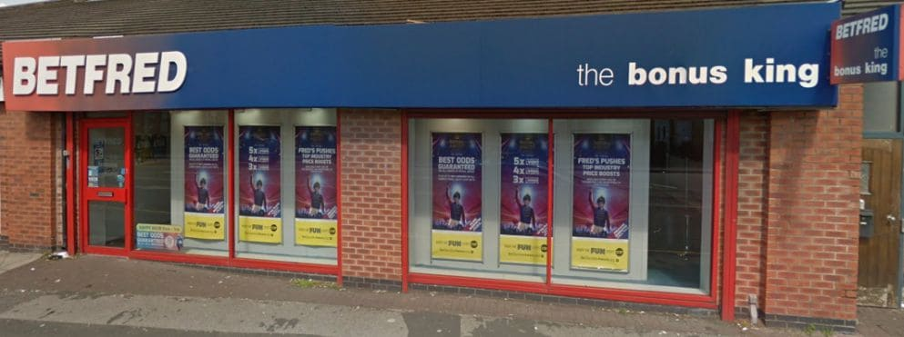 Betfred Betting Shop Warrington Lovely Lane