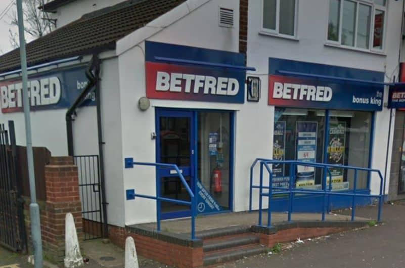 Betfred Betting Shop Wolverhampton Stafford Road