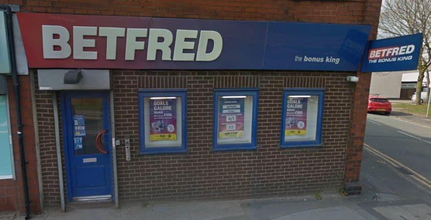 Betfred Betting Shop Wigan Scholes