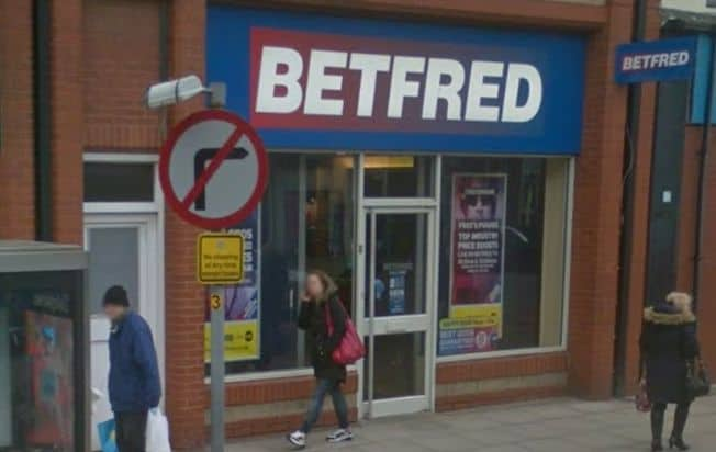 Betfred Betting Shop Southport Eastbank Street