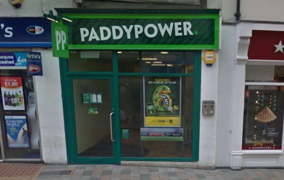 Paddy Power Betting Shop Chelmsford High Street