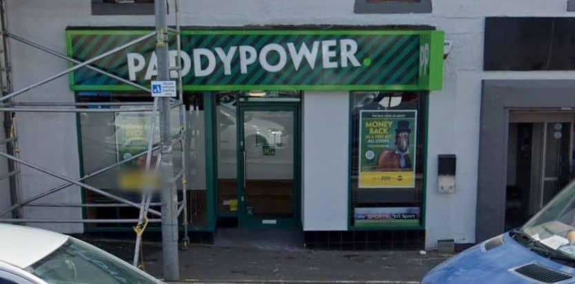 Paddy Power Betting Shop Glasgow Baillieston