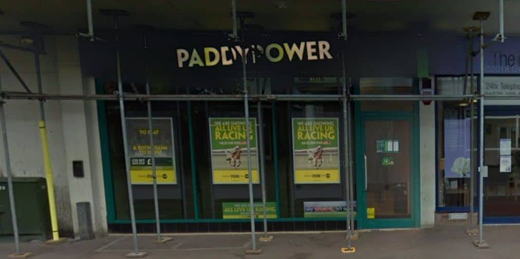Paddy Power Betting Shop Harlow East Gate Street