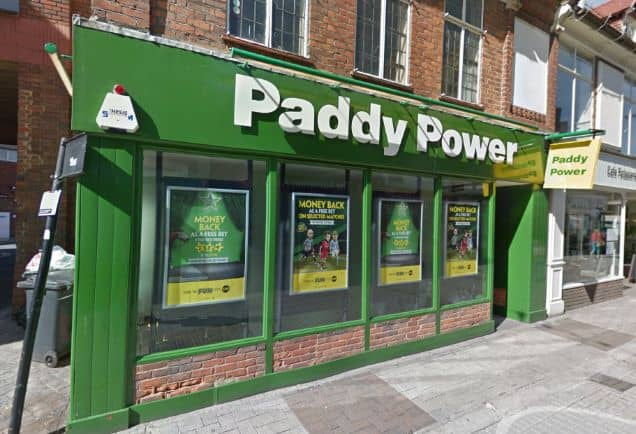 Paddy Power Betting Shop High Wycombe White Hart Street