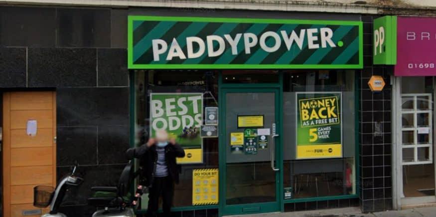 Paddy Power Betting Shop Scotland Bellshill, Main Street