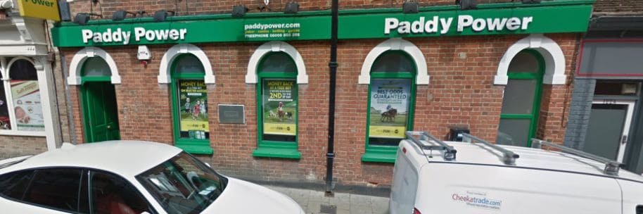 Paddy Power Betting Shop Aldershot Victoria Road