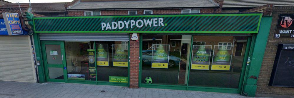 Paddy Power Betting Shop Chadwell Heath Station Road