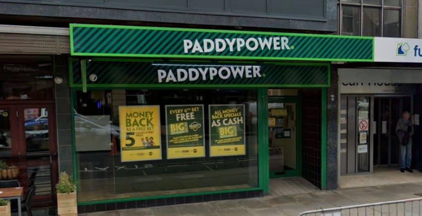 Paddy Power Betting Shop Huddersfield John William Street