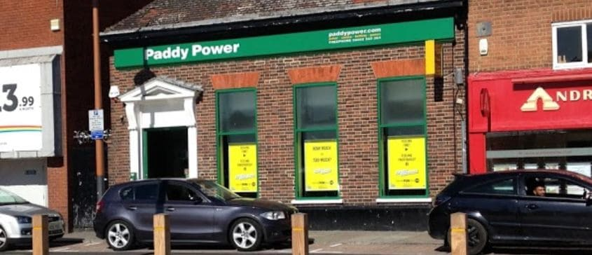 Paddy Power Betting Shop Mitcham Upper Green East