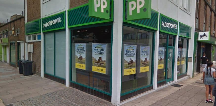 Paddy Power Betting Shop Stevenage Town Square
