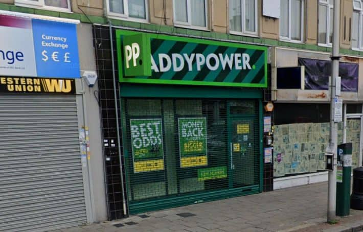 Paddy Power Betting Shop Barkingside High Street
