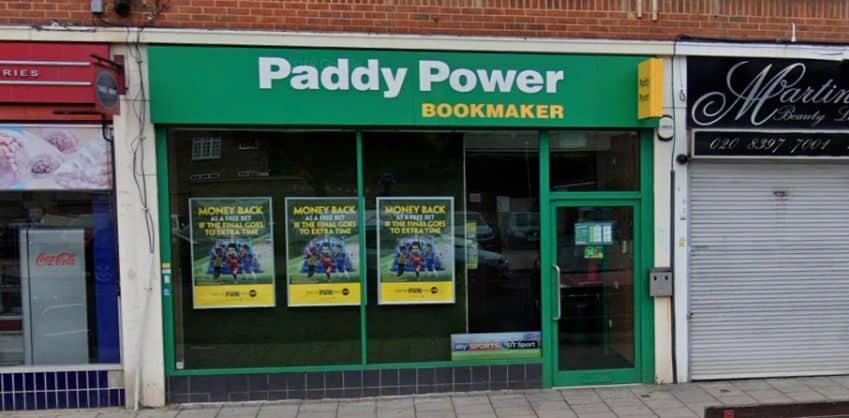 Paddy Power Betting Shop Chessington North Parade