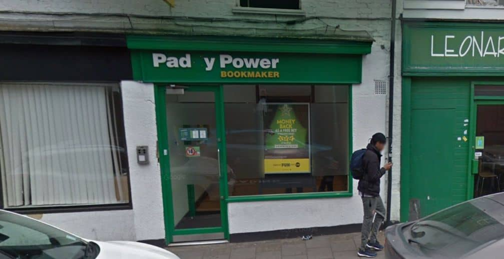 Paddy Power Betting Shop Gravesend Windmill Street