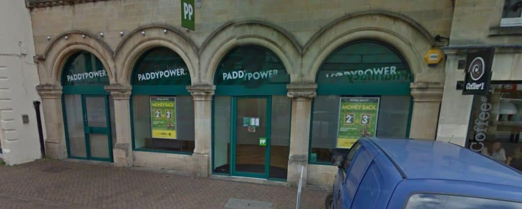 Paddy Power Betting Shop Trowbridge Fore Street