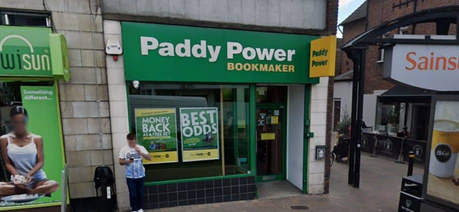 Paddy Power Betting Shop Beckenham High Street