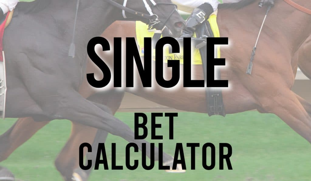 Single Bet Calculator