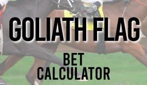Goliath Flag Bet Calculator