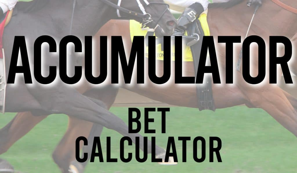 Accumulator Bet Calculator