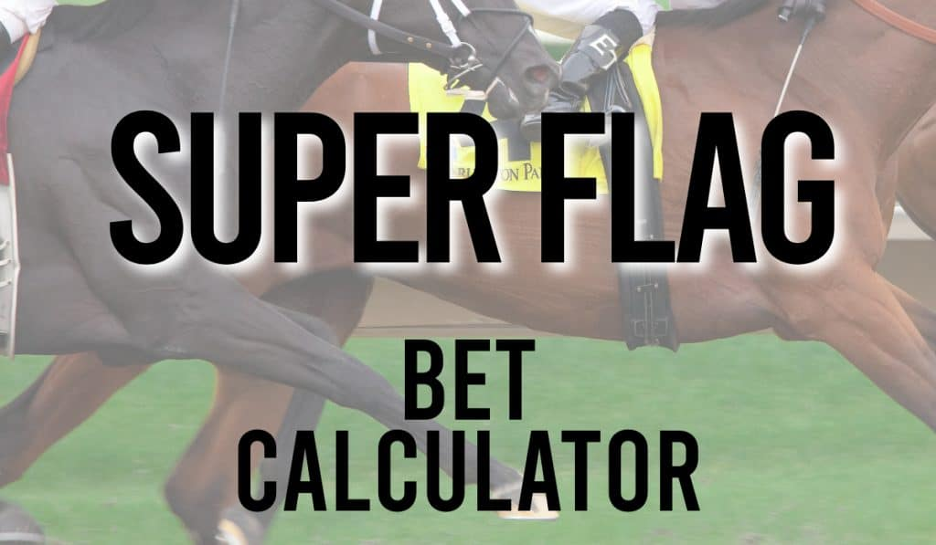 Super Flag Bet Calculator