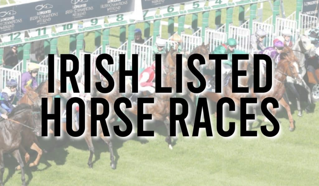 Irish Listed Horse Races