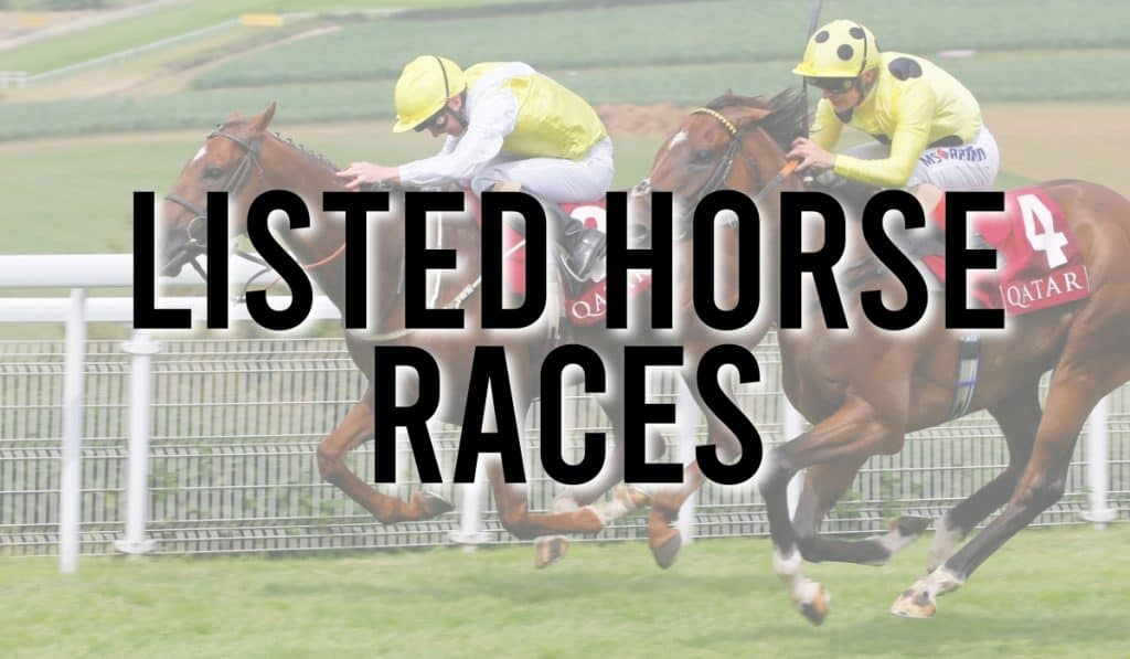 Listed Horse Races